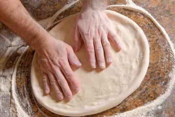 تحضير عجينة البيتزا ......والمايونيز