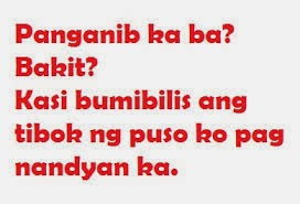 Halo Halong Pinoy: New Tagalog Pick-Up Lines 2014