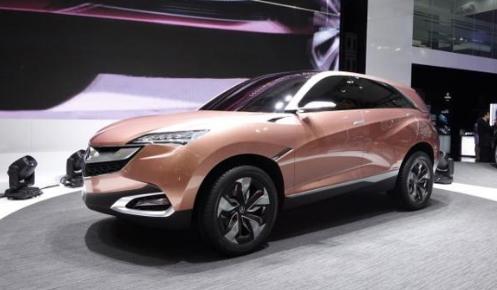 2018 Acura CDX Exterior