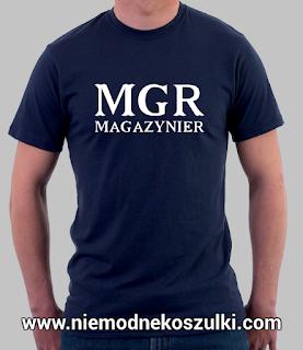 Koszulka MGR magazynier