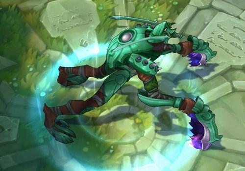 Mod Skin Khazix Green Edition
