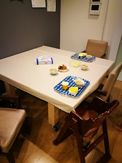 テーブルにもなる卓球台