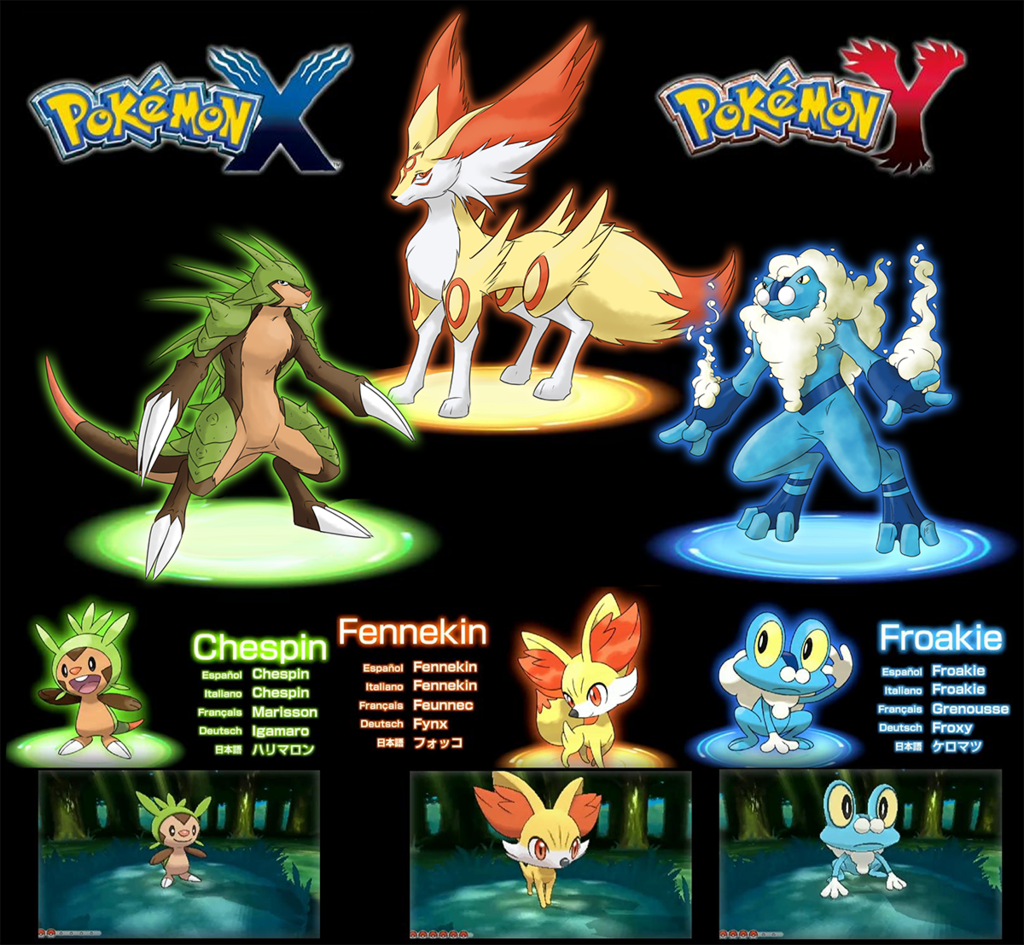 Pokemon diamond and pearl starters exclusively your