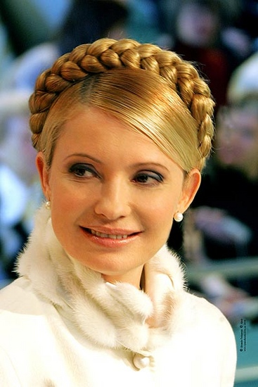 Coiffure femme ukrainienne