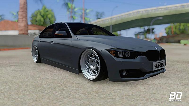 Download Modificação do carro alemão BMW F30 335i Stance para o jogo GTA San Andreas - PC