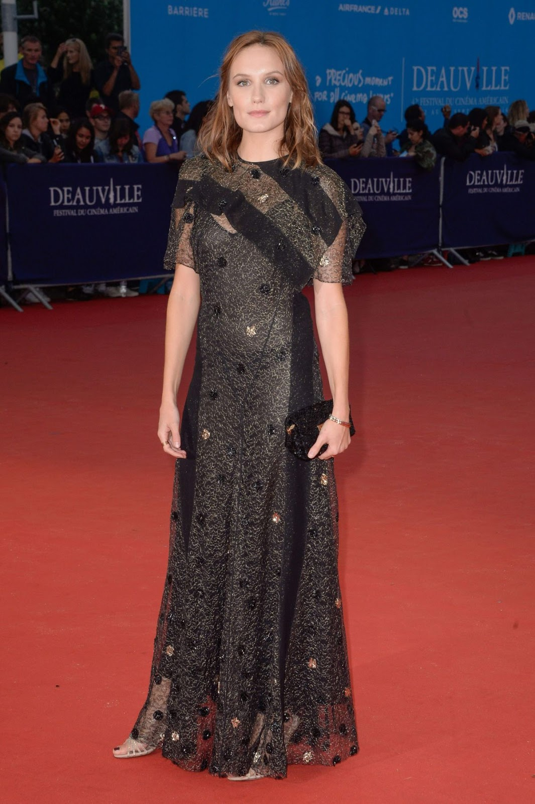HQ Wallpapers of Ana Girardot at In Dubious Battle Premiere At 2016 Deauville American Film Festival