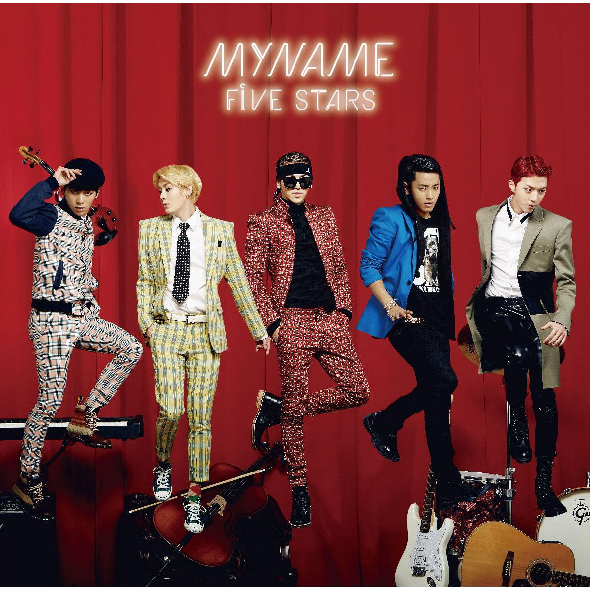 MYNAME – FIVE STARS (Japanese)