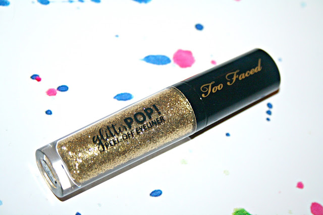 Too Faced Glitter Pop Peel Off Eyeliners