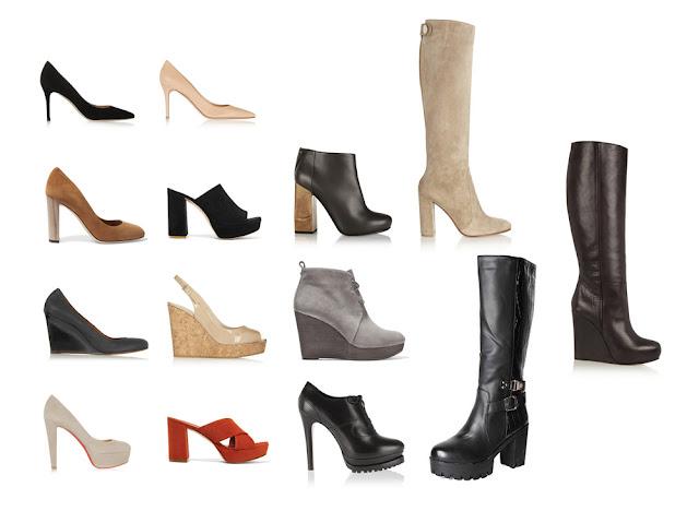 Обувь для типа фигуры Груша