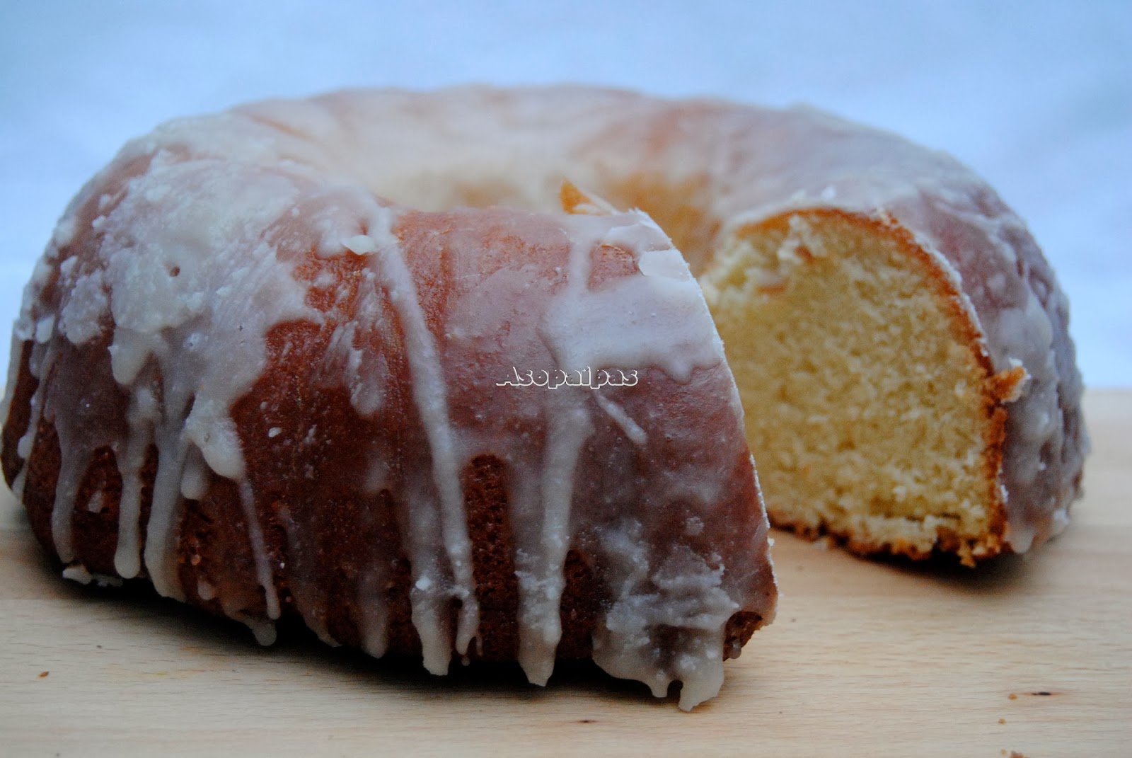 Pound Cake de Amaretto