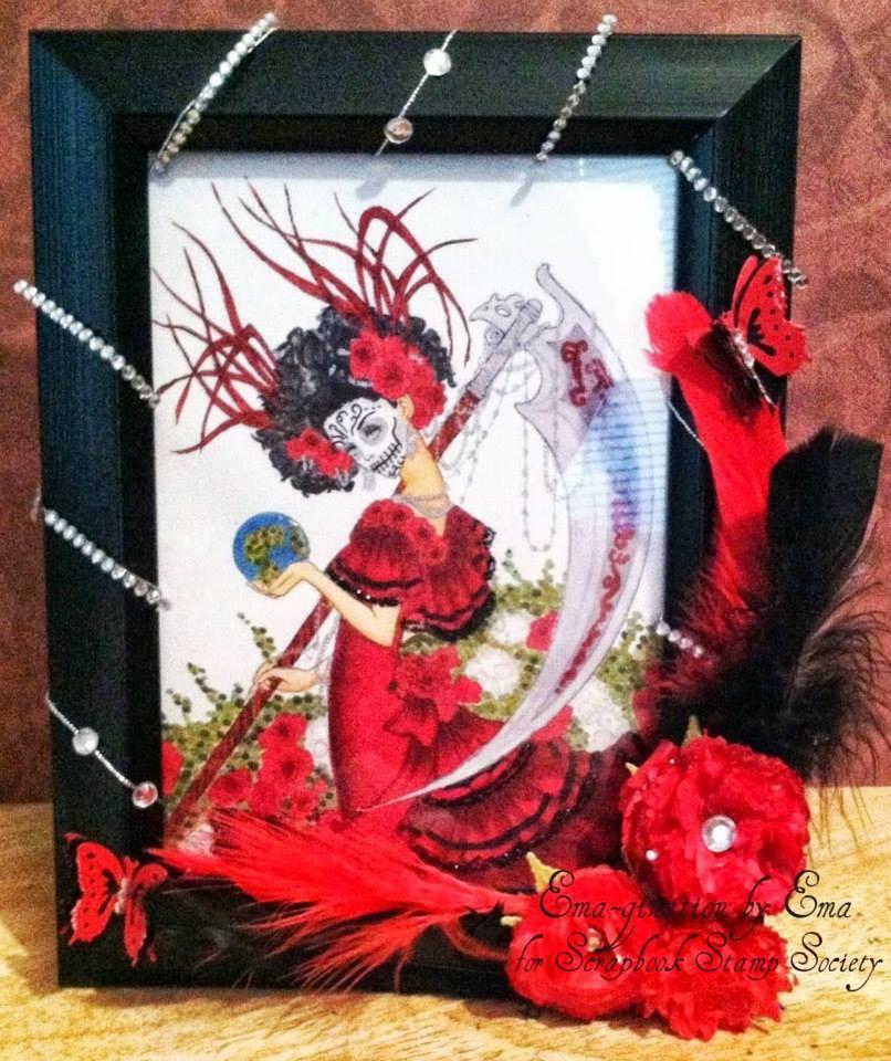 EMA-gination: Santa Muerte by Mitzi Sato-Wiuff
