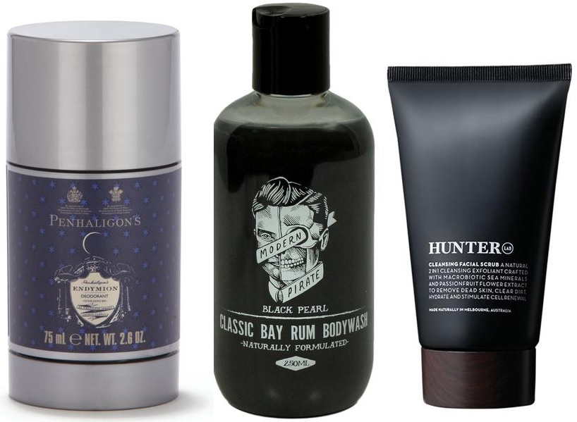 Most recommended skin and body care products for men