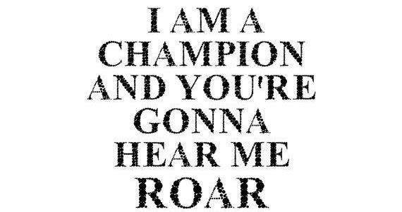 LopesCa: Katy Perry Roar (Lyrics)