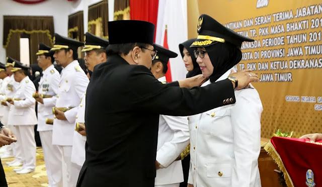 Pelantikan Thoriq – Indah di Surabaya
