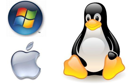 Windows, Linux, Mac