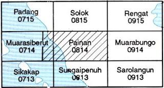 Indeks Peta Geologi Lembar Painan