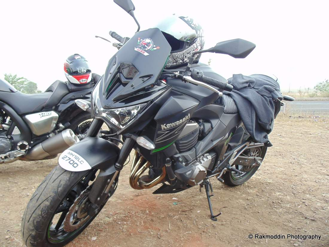 India Super bikes at Veer Dam near Pune