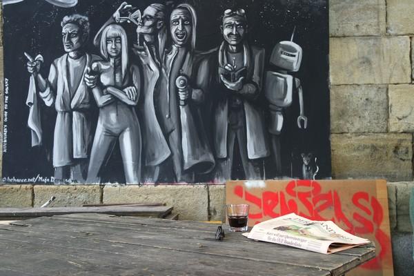vienne vienna polaroid urban tour sophort photo donaukanal canal danube