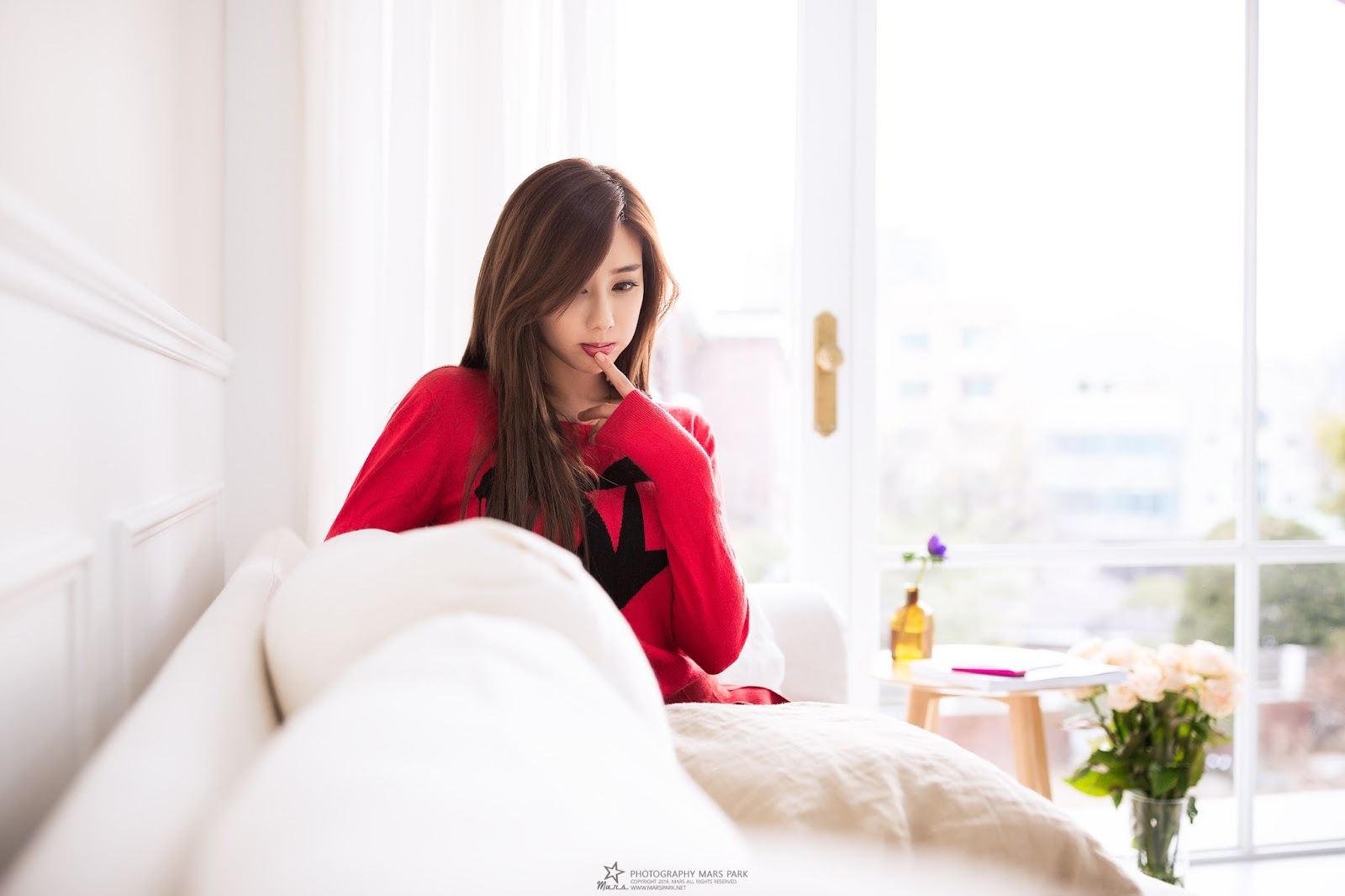 Korean Model Kim Ha Yul on Magazine Jan 2017