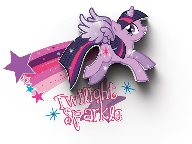 Twilight Sparkle Wall Light