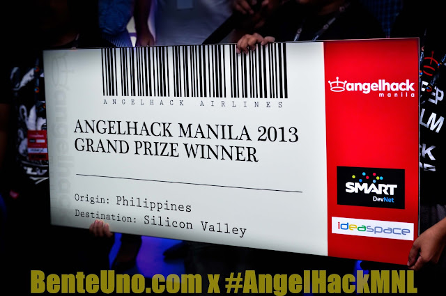 Angel Hack Manila 2013 Grand Winner Page Snapp