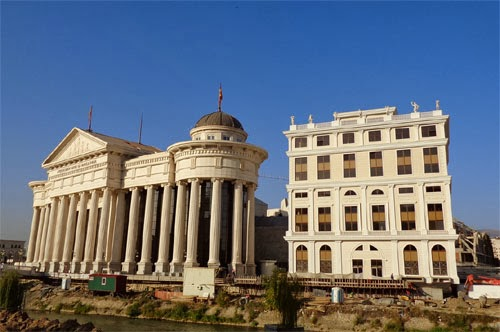 AEK moves to baroque building on the quay of Vardar