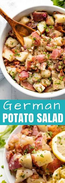 Old Fashioned German Potato Salad