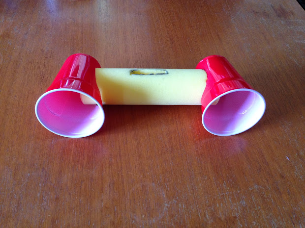 How To Make A Homemade Speaker Out Of Cup - Year of Clean Water