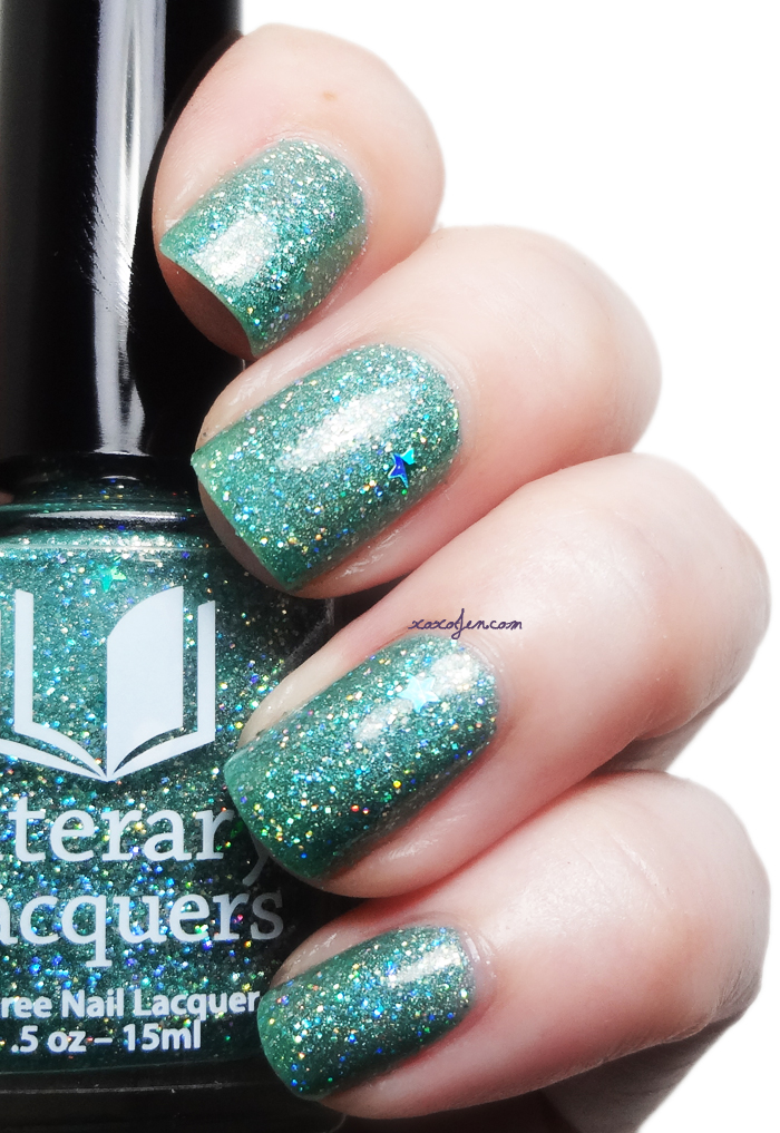 xoxoJen's swatch of Literary Lacquers: The Ultimate Answer