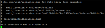 Konfigurasi Mail Server menggunakan Posfix dan dovecot di debian 8.10