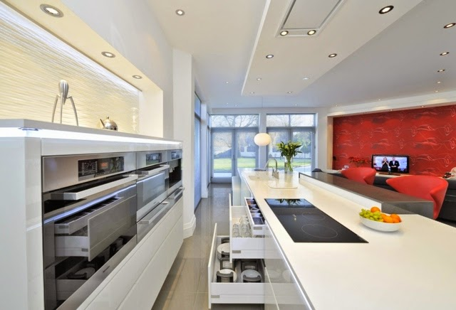 Interior decoratinons 1 for Modern day kitchen designs