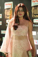 Nidhi Subbaiah Glamorous Pics in Transparent Peachy Gown at IIFA Utsavam Awards 2017  HD Exclusive Pics 47.JPG