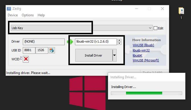 driver bst dongle
