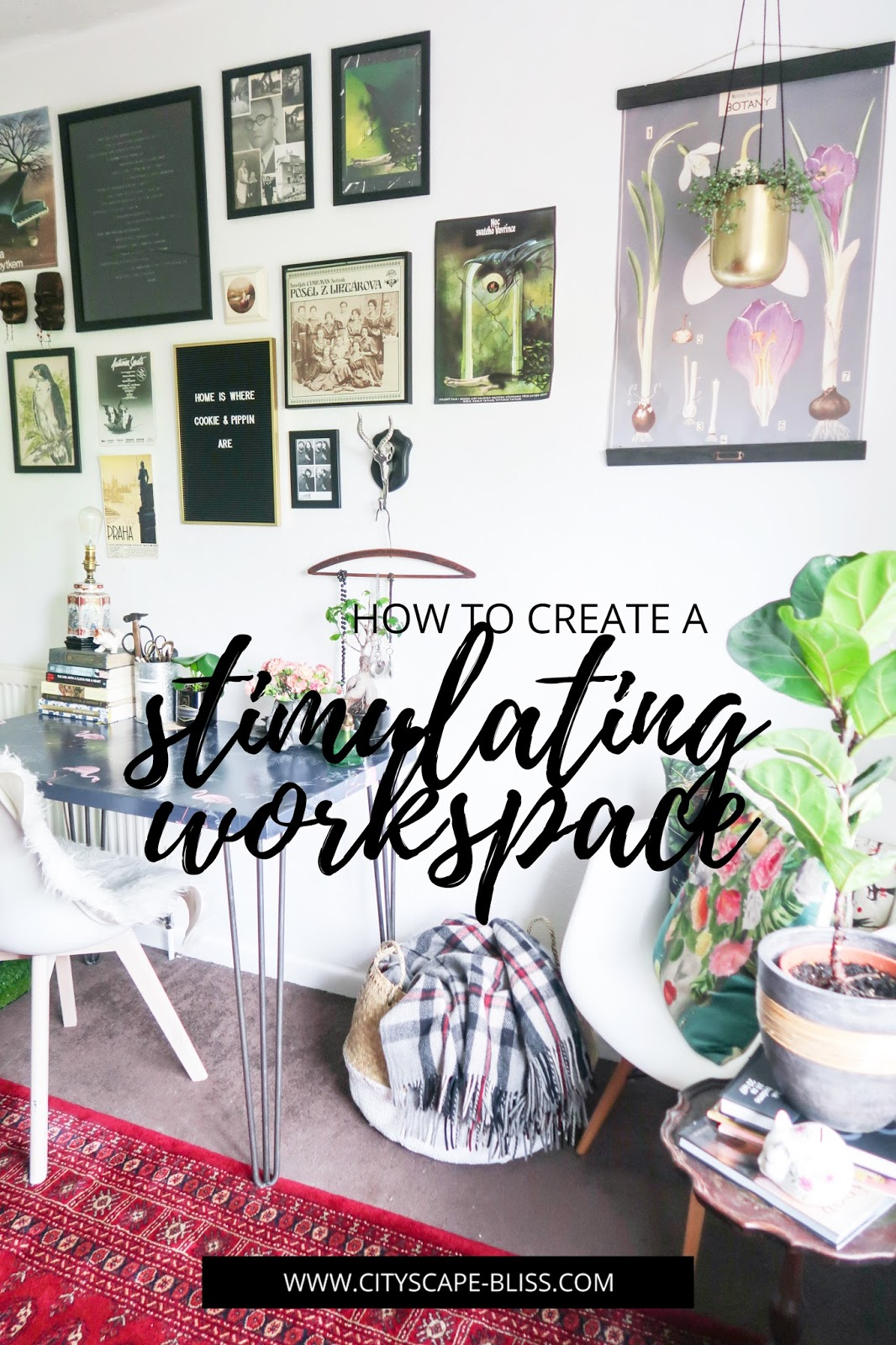 How I've created a stimulating workspace