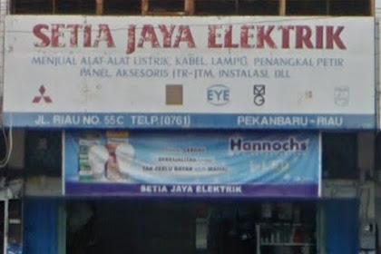 Lowongan Setia Jaya Elektrik Pekanbaru Oktober 2018