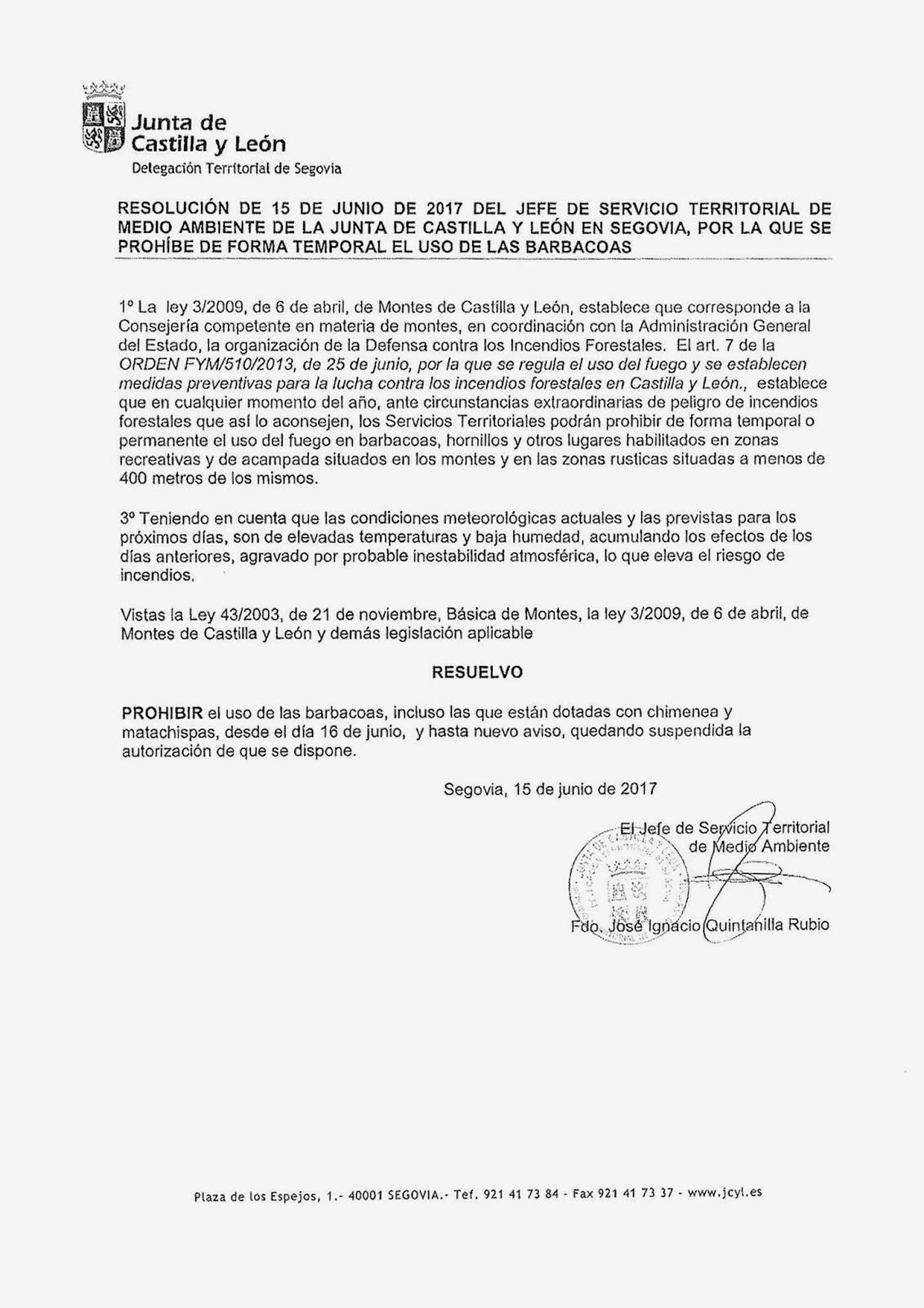 P gina web oficial del ayuntamiento de coca segovia - Matachispas para chimeneas ...
