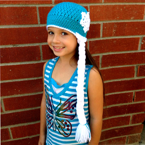 Ice Queen Crochet Hat - Free Pattern