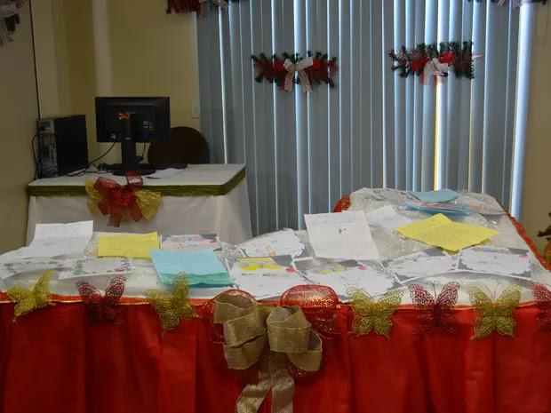 Projeto 'Papai Noel dos Correios' recebe cartinhas em Cacoal
