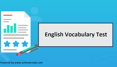 Test of English Word Power for IBPS PO - Set 4