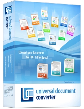 Universal Document Converter 6.5