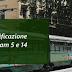 Lavori di riqualificazione dei binari dei tram 5 e 14