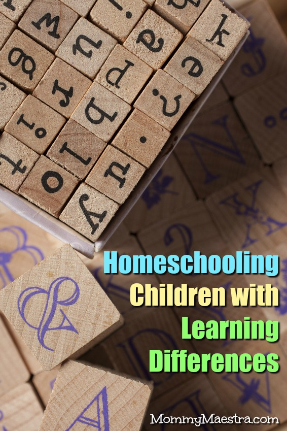 Homeschooling Children with Learning Differences