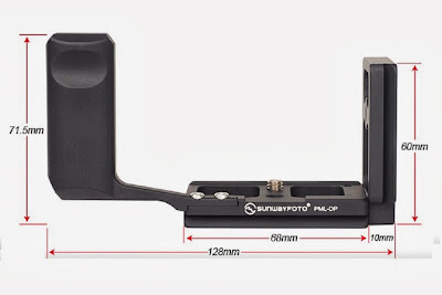 Sunwayfoto PML-DP L Bracket diamensions