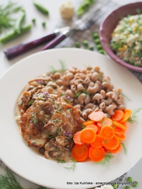 poledwiczki w sosie z twardzioszkami, mieso w sosie grzybowym, domowy obiad, co na obiad, sos grzybowy, jaki to grzyb, przydrozki, grzyby jadalne