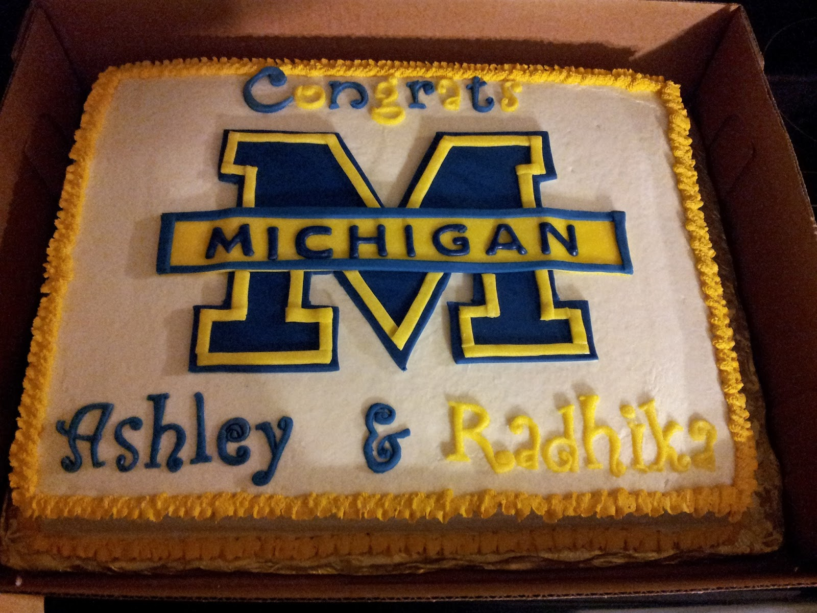 Michigan Cake And Cookies