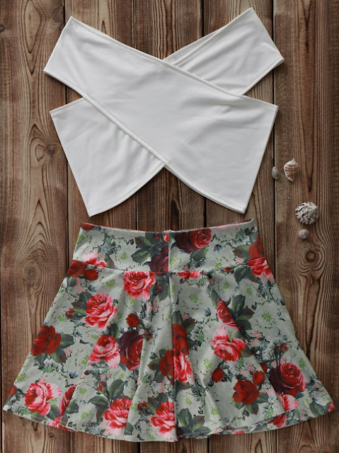 http://www.zaful.com/white-cross-crop-top-and-floral-a-line-skirt-suit-p_178886.htmlhttp://www.zaful.com/tropical-print-backless-fit-and-flare-dress-p_275090.html?lkid=25227
