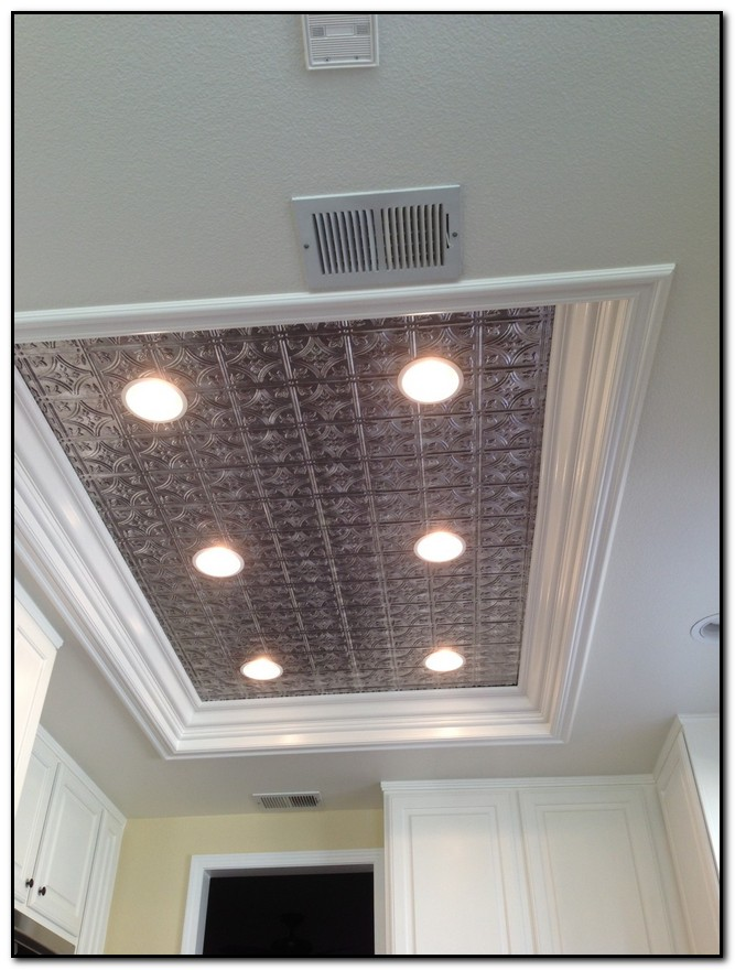 Replace Fluorescent Light Fixture In Kitchen - Design Home & Kitchen