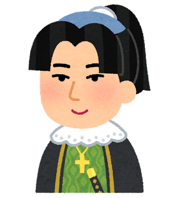 天草四郎の似顔絵イラスト