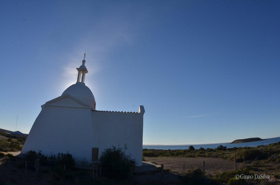 Capilla en Isla de los Pájaros en Península Valdés