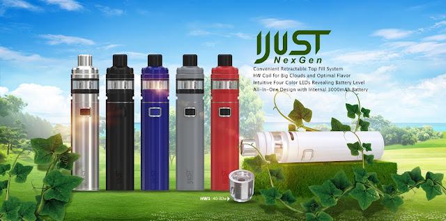 Eleaf iJust NexGen Vape Pen Kit Launched